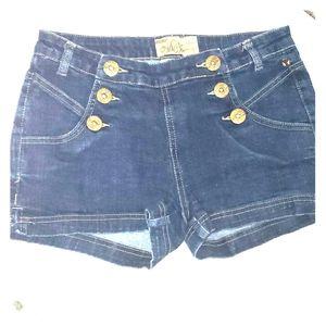 Mecca Femme denim shorts